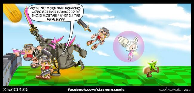 Clashers Comic 19