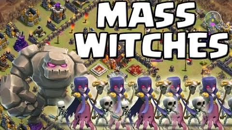 MASS WITCHES - Angriffsstrategie CLASH OF CLANS Let's Play CoC Deutsch German HD