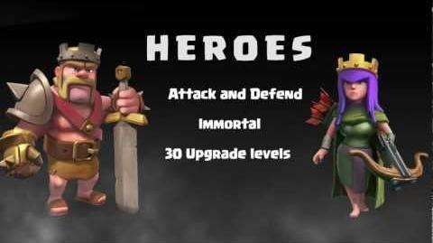 Introducing Heroes in Clash of Clans OFFICIAL