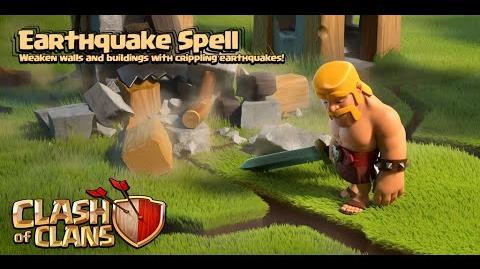 Clash of Clans - New Update! Dark Spell 2 Earthquake Spell Gameplay (Sneak Peek)