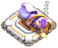 Grand Warden sleeping