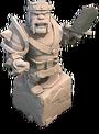 Barbarian King Statue