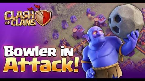 """NEW DARK TROOP - """"BOWLER"""" - IN ATTACK Sneak Peek 3 Clash of Clans"""