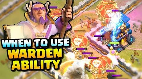 WHEN TO USE THE GRAND WARDENS ABILITY How to use the Grand Warden Clash of Clans