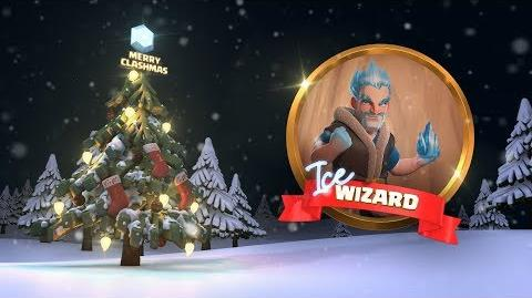 Clash of Clans Ice Wizard (Clashmas Update 2017)