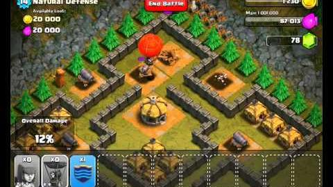 Clash of Clans Level 30 - Natural Defense