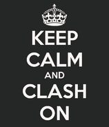 Clash on