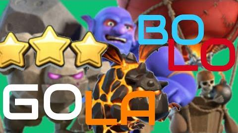 Clash of Clans - GoBoLaLo! BEST TH 9 ATTACK STRATEGY!! MUST TRY! ( Bolalo Event 2017)