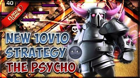 ⚔ NEW 10v10 3 STAR ATTACK STRATEGY THE PSYCHO CLASH OF CLANS ⚔