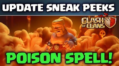 Clash of Clans UPDATE! ♦ Sneak Peeks! ♦ Dark Spell Factory ♦ POISON Spell ♦ Queue Spells! ♦