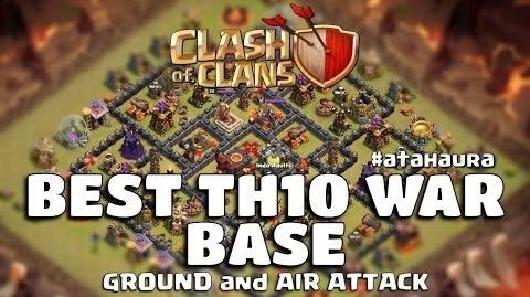 Video Best Of The Best Town Hall 10 Base War 2015 Anti Star