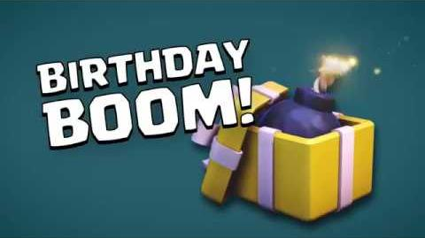 Clash of Clans Birthday Boom (Builder Has Left Week 4)
