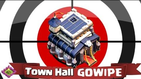 Clash of Clans GOWIPE Guide - Chapter 5 - Targeting the Town Hall!