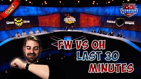 ▶️ CWL Invite Finals LAST 30 MINUTES Faked WGM vs OneHive CLASH OF CLANS ◀️
