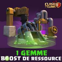 ÉVÉNEMENT 1 GEMME BOOST DE RESSOURCE