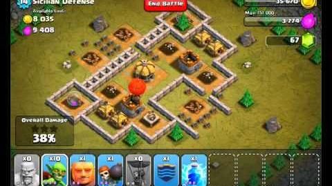 Clash of Clans Level 26 - Sicilian Defense