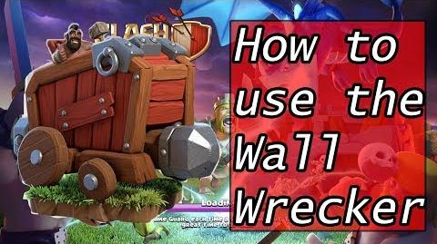 How to use the Wall Wrecker in Clan Wars and Farming-1