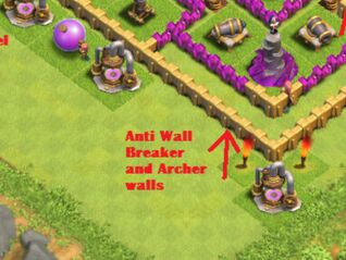 Anti Wall breaker Walls