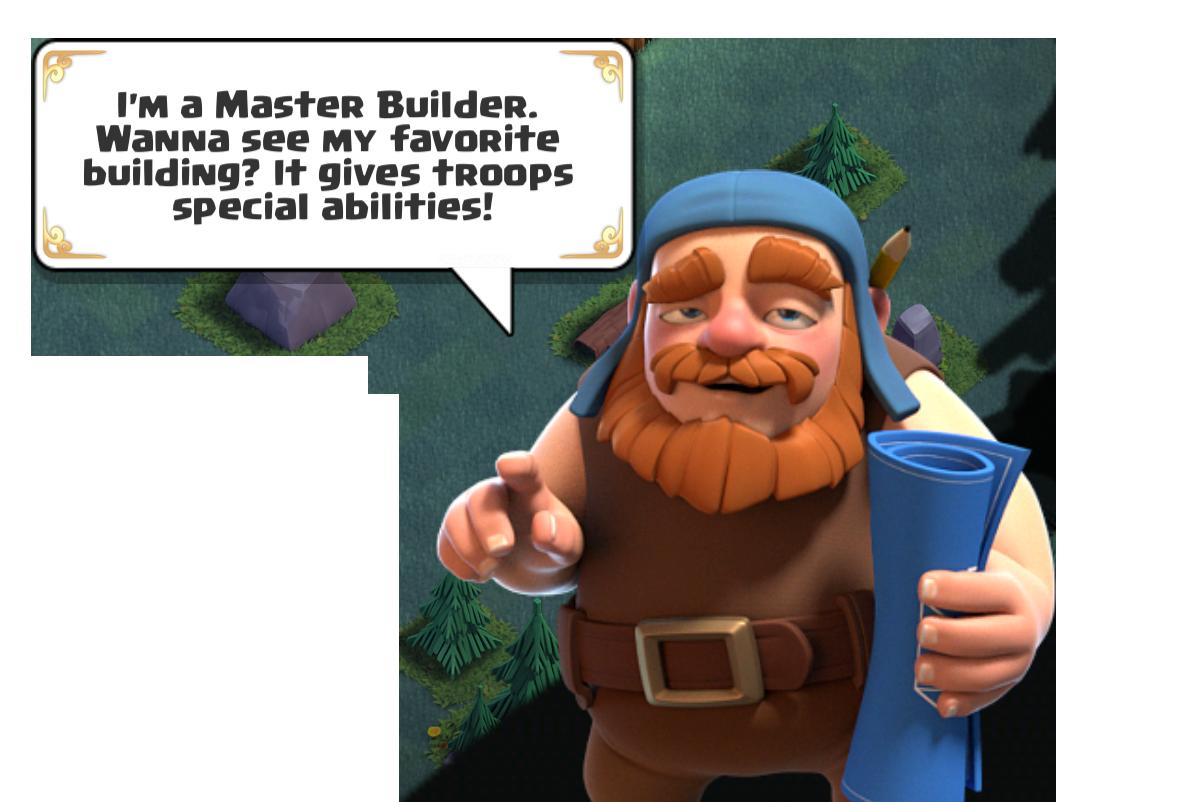 Master Builder Clash Of Clans Builder
