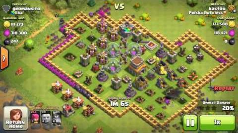 Clash of clans- Farma Górą 2