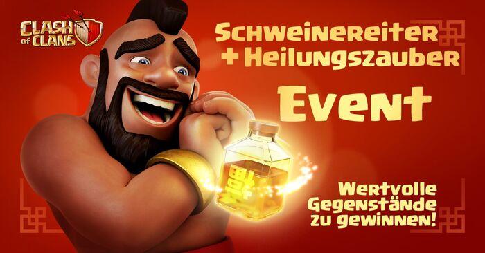 Schweinereiter-Heilzauber-Event