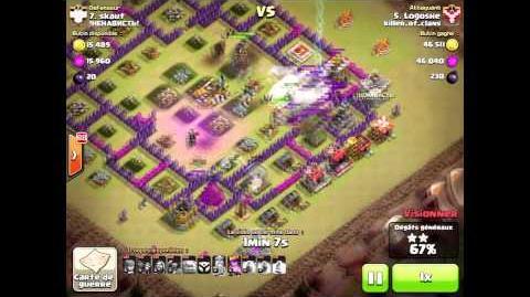 Attaque Tutoriel en GOWIPE ET LAVALLOONION SUR HDV 9 OPTI GDC Killer of clans vs !HEHABNCTb!
