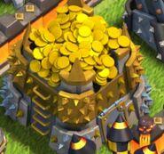 Goldlager voll
