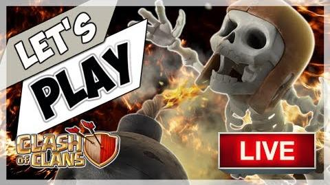 🅲🅾🅲 TWO LIVE 11v11 ATTACKS BY ME FPC India vs Dark Looters Z Clash of Clans (had to mute!)