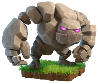 Clash of Clans Golem
