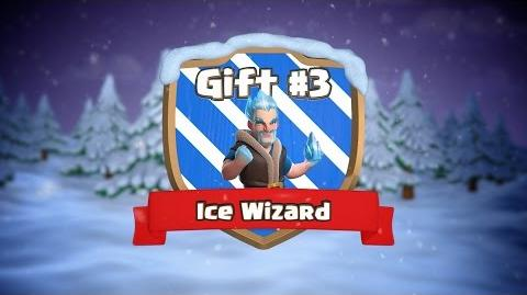 Clash of Clans Ice Wizard (Clashmas Gift 3)