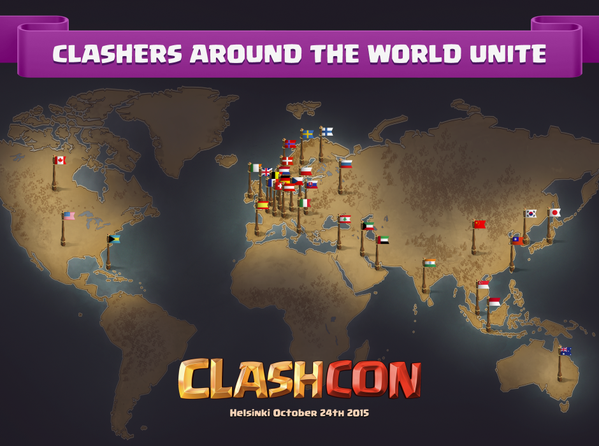 Clasher aus der ganzen Welt