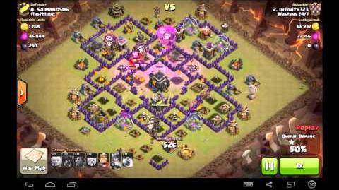 TH9 vs TH9 PentaLavaLoon 1