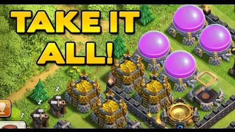 Clash of Clans - Best Farming Troop Combo
