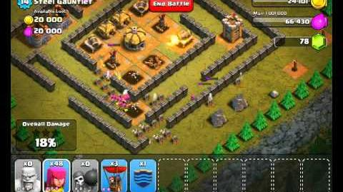 Clash of Clans Level 31 - Steel Gauntlet