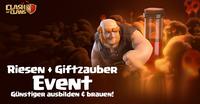Riesen-Gift-Event