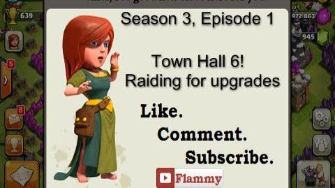 3-1 Let's Play Clash of Clans - Town Hall 6! Raiding for Upgrades (Gameplay Commentary)