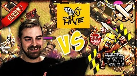 ▶️ FYSB vs OneHive TWO LEGENDARY CLANS 3 star attacks at TH9, TH10 and TH11 CLASH OF CLANS ◀️
