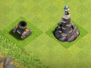 Wizard tower and mortar
