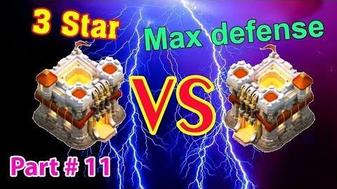 Clash of Clans Max TH11 vs TH11!!! 👍 TH11 100% 3 star 💥 11