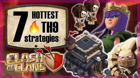 The 7 HOTTEST TH9 strategies in 2018 Clash of Clans