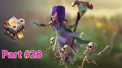 Clash of Clans Bowler Witch Attack Strategy!!!👍 TH11 100% 3 Star 💥 28