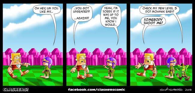 Clashers Comic 33