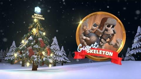 Clash of Clans Giant Skeleton Returns! (Clashmas Update 2017)