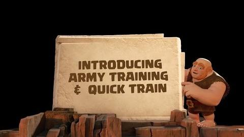 Clash of Clans Introducing Army Training & Quick Train