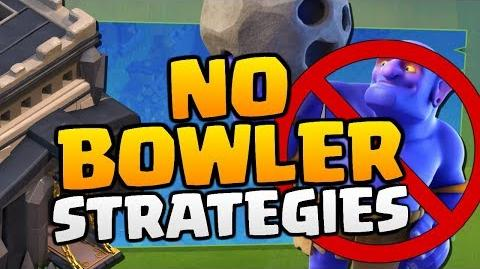 """No Bowler Strategies at TH9 in """"Clash of Clans"""" 2018 3 Star Attacks with No CC Bowlers!"""