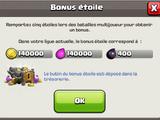 Bonus Étoile
