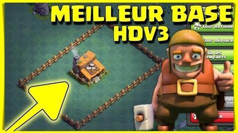 "Clash Of Clans MEILLEUR BASE HDV3 ""SPEED BUILDING"""
