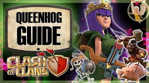 QUEENHOG GUIDE Town Hall 10 Queen Walk Hog Rider attack Clash of Clans