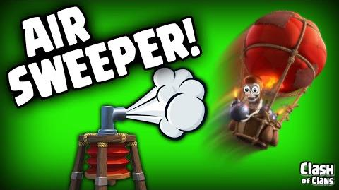 "Clash of Clans Update ""The Air Sweeper In Depth"" It'll Blow You Away!"