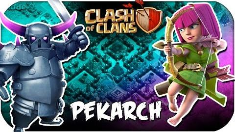 NEW ATTACK STRATEGY PekArch ATTACK CLASH OF CLANS